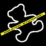 scene de crime ourson