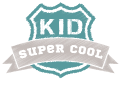 Motif Kid Super Cool