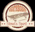Motif Skateboard Street Spirit