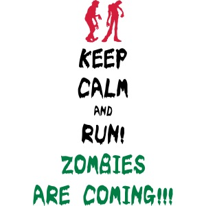 Zombie Keep Calm