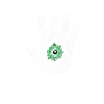 Solution in hand white