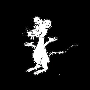 Maus Karikatur