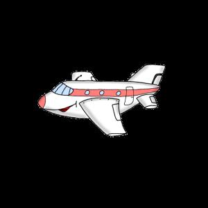 Flugzeug Karikatur