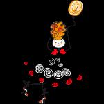 dancer with ballon