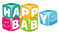 Motif happy baby cubes