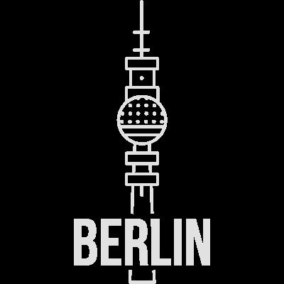 Berlin  - Berliner Fernsehturm als trendiges Line Art. - line art,Fernsehturm,Berlin design,Berlin,Berlin,Alexanderplatz
