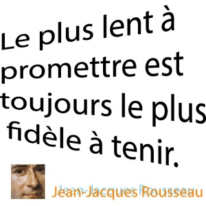 Citation De Rousseau T Shirt Homme