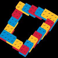 optische Täuschung - endlos Treppe