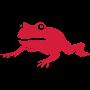mürrischer Frosch
