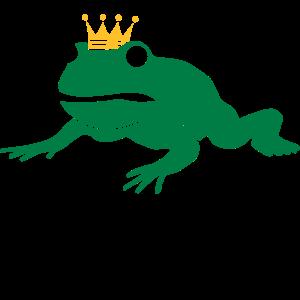 mürrischer Froschkönig - abwarten