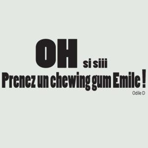 chewing gum Emile