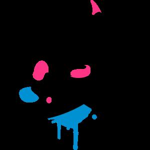 Pinsel,Farbe und Mischpalette