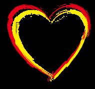 Fan-Shirt: srg_h02 Herz Deutschland