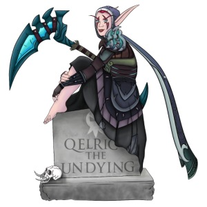 Qelric Tombstone