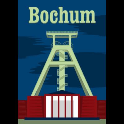 Bochum - Bochum Motiv mit dem Bergbaumuseum - tief im westen,ruhrpott,ruhrgebiet,pott,kohlenpott,herne,bergbaumuseum,bergbau,Stadt,Bochum