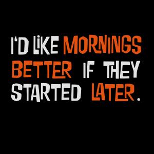 Morgenmuffel