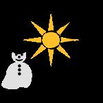 kittycat_fruehling_schneemann