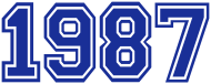 Jahrgang 1980 Geburtstagsshirt: college_1987