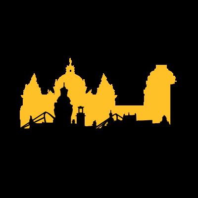 Leipzig Skyline - skyline,leipzig,sachsen,city,hochhaus,silhouette,stadt,deutschland,stadion,rathaus,gericht,uni,riese,plagwitz,gohlis,vektor,haus,dach,dächer - vektor,stadt,skyline,riese,haus,gohlis,deutschland,dach,city,Uni,Stadion,Silhouette,Sachsen,Rathaus,Plagwitz,Leipzig,Hochhaus,Gericht,Dächer
