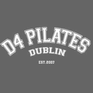 D4 Pilates - College style (white)