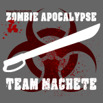 Zombie Apokalypse Team Machete