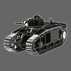 French Char B1 Bis Tank