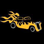 Retro Hot Rod by patjila