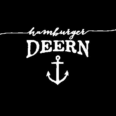 Hamburger Deern - Hamburger Deern Typo mit Anker.  - Hamburg,Deern,Anker
