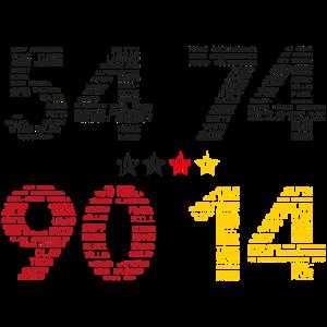 54, 74, 90, 2014
