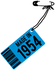 Jahrgang 1950 Geburtstagsshirt: Geburtstag T-Shirt 1954