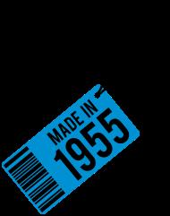 Jahrgang 1950 Geburtstagsshirt: Geburtstag T-Shirt 1955