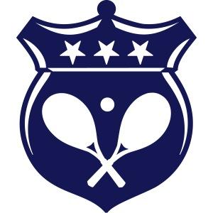Tennis Wappen / Emblem