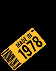 Jahrgang 1970 Geburtstagsshirt: Geburtstag T-Shirt 1978