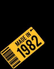 Jahrgang 1980 Geburtstagsshirt: Geburtstag T-Shirt 1982