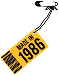 Jahrgang 1980 Geburtstagsshirt: Geburtstag T-Shirt 1986