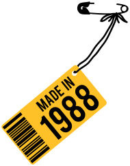 Jahrgang 1980 Geburtstagsshirt: Geburtstag T-Shirt 1988