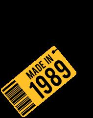 Jahrgang 1980 Geburtstagsshirt: Geburtstag T-Shirt 1989