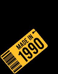 Jahrgang 1990 Geburtstagsshirt: Geburtstag T-Shirt 1990