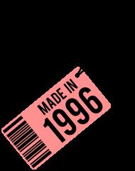 Jahrgang 1990 Geburtstagsshirt: Geburtstag T-Shirt 1996
