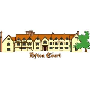 ufton court house colour with text general png
