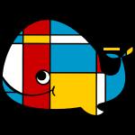Mondrian Whale