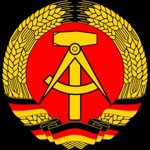 DDR Wappen, Fahne, Osten, Deutschland, Emblem