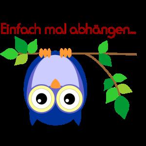Eule - Abhängen