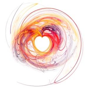 Herz / Herzen, abstraktes Design