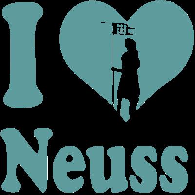 I love Neuss - Für alle die Neuss lieben!  - Stadtpatron,Quirinus,Neuss,I love Neuss,I love