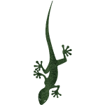 Lézard Gecko T-shirt Femme