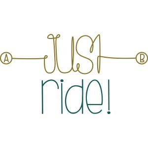 Daiv | Just ride logo XL