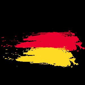 Germany smudge flag