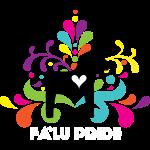 Logotyp med vit text
