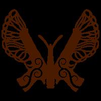 Schmetterling Pistolen
